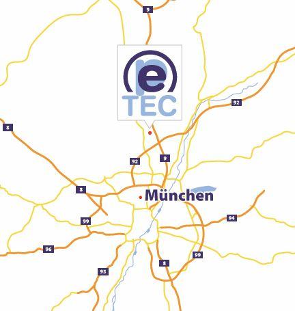 Karte Pe-Tec